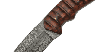Damascus – Hunter Grooved Handle